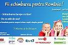 """Eveniment caritabil de dezvoltare personala """"Fii schimbarea pentru Romania""""- editia II"""