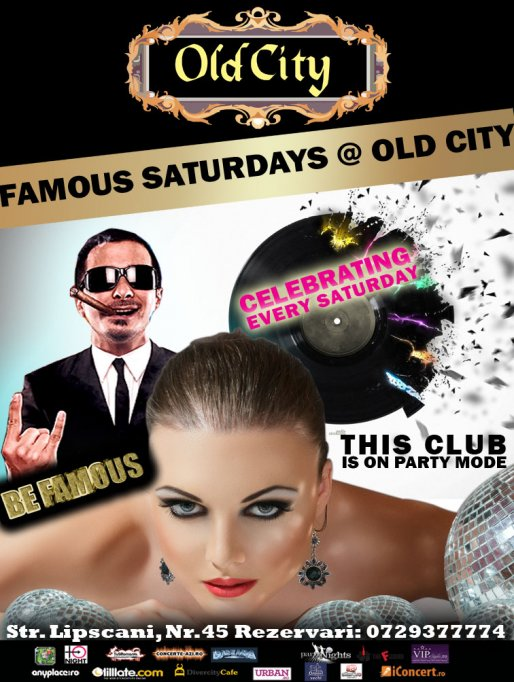 Famous Saturdays @ Old City