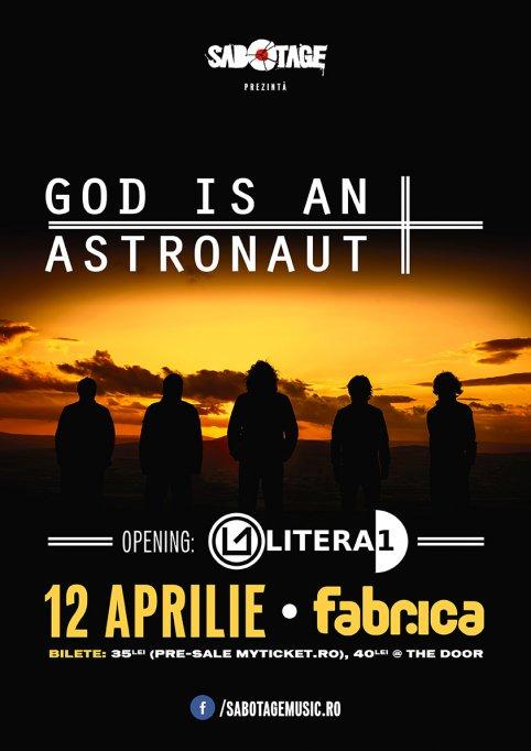 God Is an Astronaut – primul eveniment Sabotage
