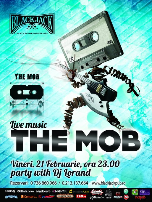 Live Music with The Mob @ Black Jack Pub