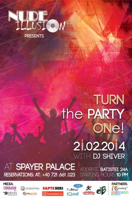 Turn the party ONe si da ritm petrecerii!