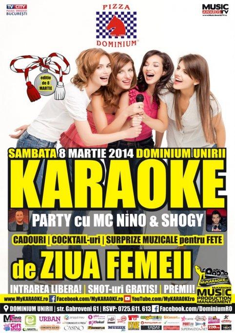 Karaoke Star Party by MC Nino & Shogy de Ziua Femeii