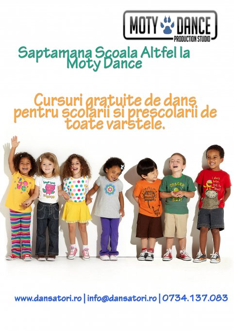 "Saptamana ""Scoala Altfel"" la Moty Dance!"