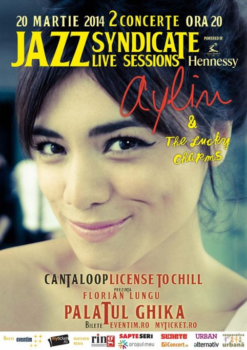Jazz la Ghika: Aylin Cadir, The Lucky Charms si Cantaloop - License to chill