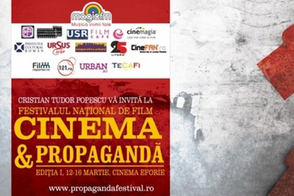 "Festivalul National de Film ""Cinema & Propaganda"" la Cinemateca Eforie"