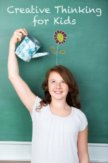 """Dezvolta personalitatea creativa a copilului tau cu modulul """"Creative Thinking for Kids""""!"""