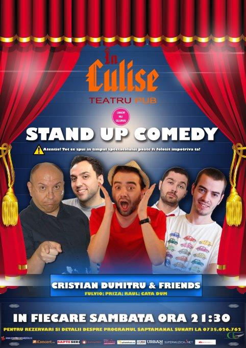 Stand-Up Comedy Sambata 8 Martie spectacolul 1 de la 21:30