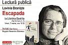 Lavinia Braniste citeste din volumul Escapada la Libraria Bastilia