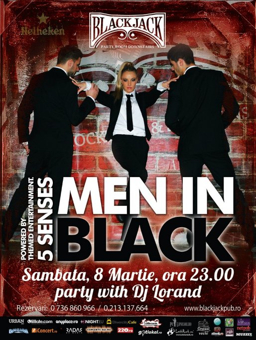 Men in Black @ Black Jack Pub