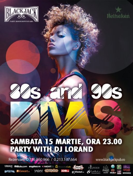 Divas Party! Back to 80s and 90s in Back Jack Pub