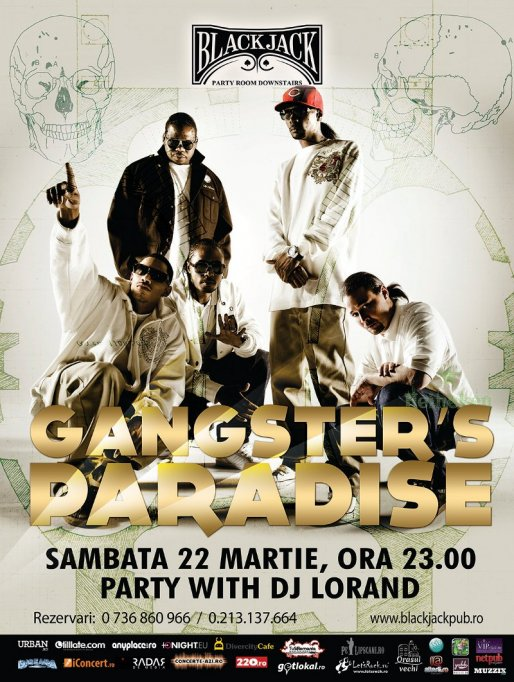 Gangster's Paradise Party @ Black Jack Pub