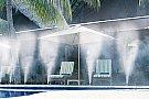 Racire terase, climatizare exterior, umidificare industriala