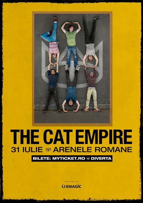 Concertul The Cat Empire se va desfasura la Arenele Romane