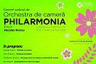 """Concert susţinut de Orchestra de cameră """"Philarmonia"""" la ICR"""