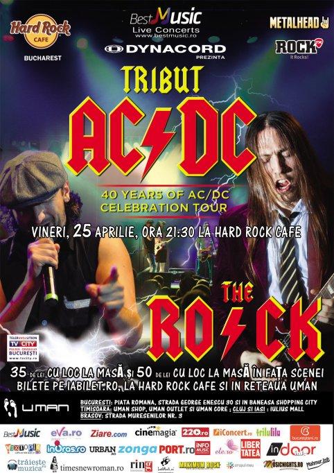 Biletele VIP la Tributul AC/DC - 40 de ani de la Hard Rock Cafe s-au epuizat