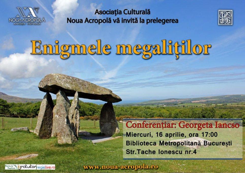 Prelegere filosofica despre Enigmele Megalitilor