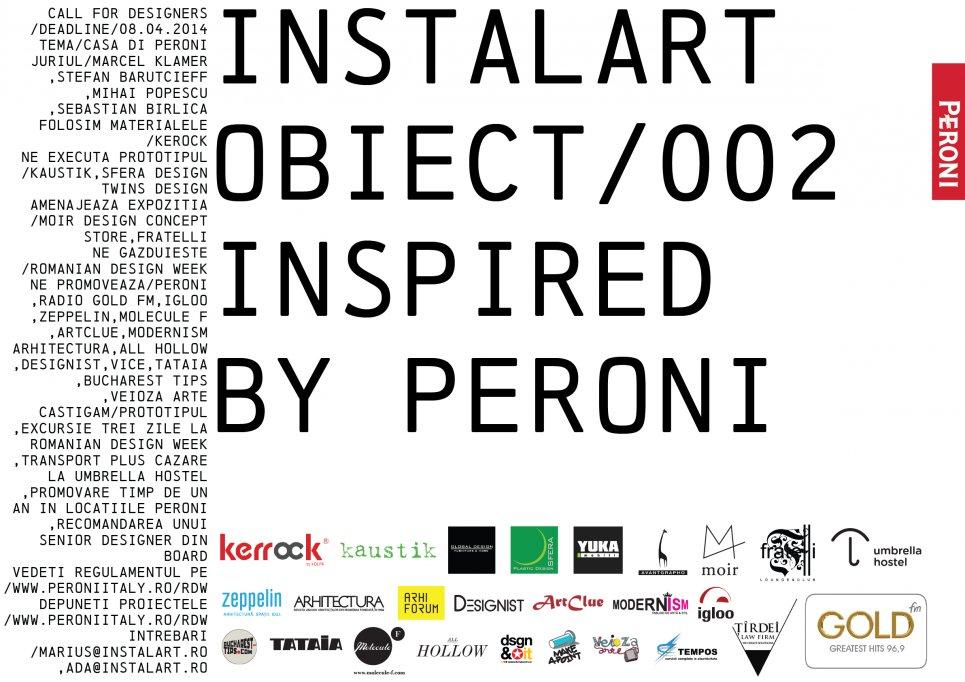 Proiectele castigatoare Instalart/ Obiect/ 002. Inspired by Peroni