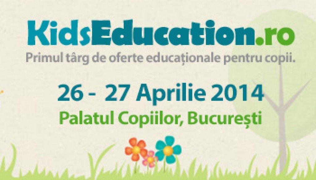 Learning House ofera cursuri gratuite la Kids Education 2014 | 26-27 aprilie| Palatul Copiilor din Bucuresti