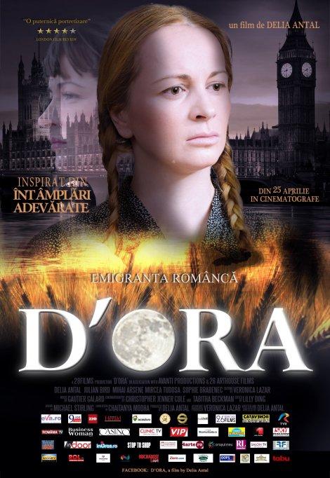 """""""D'ORA"""": Emigranta Romanca – filmul de debut al Deliei Antal – din 25 aprilie in cinematografele din Bucuresti!"""