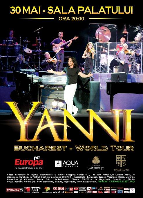 Yanni lanseaza albumul Inspirato in colaborare cu Placido Domingo