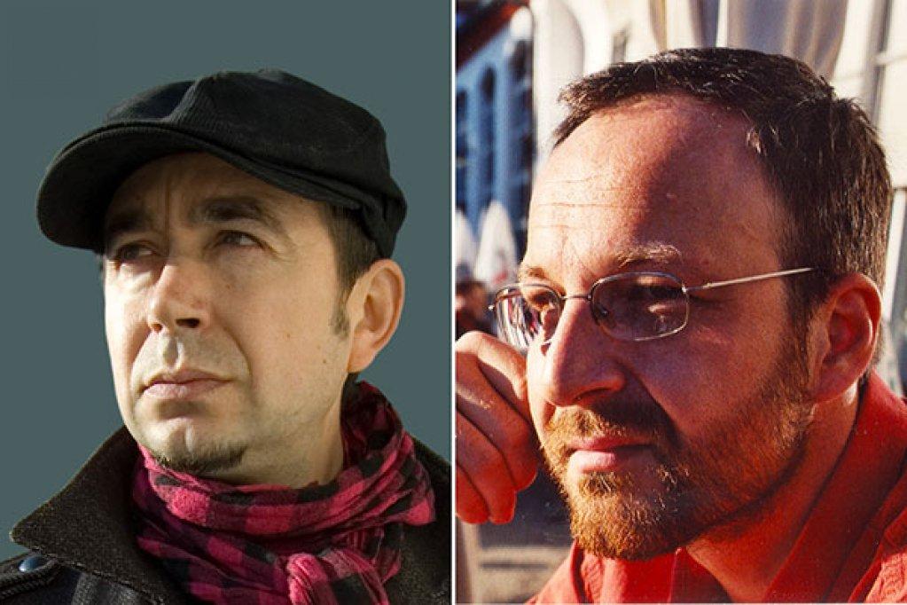 Vasile Ernu si Cezar Paul-Badescu, invitati ai Salonului de Carte de la Torino