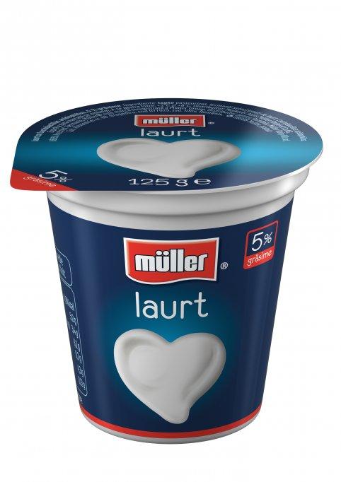 Müller schimba ambalajele pentru lapte, iaurt si smantana Indragosteste-te de acelasi über gust Müller
