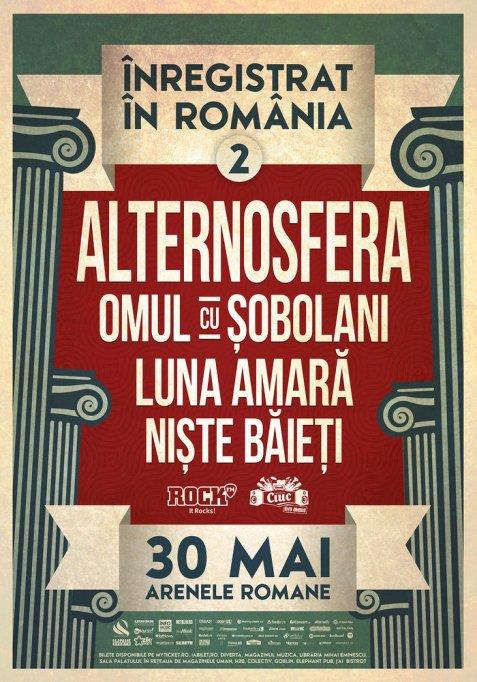 Au mai ramas doar 500 de bilete pentru evenimentul Inregistrat in Romania #2