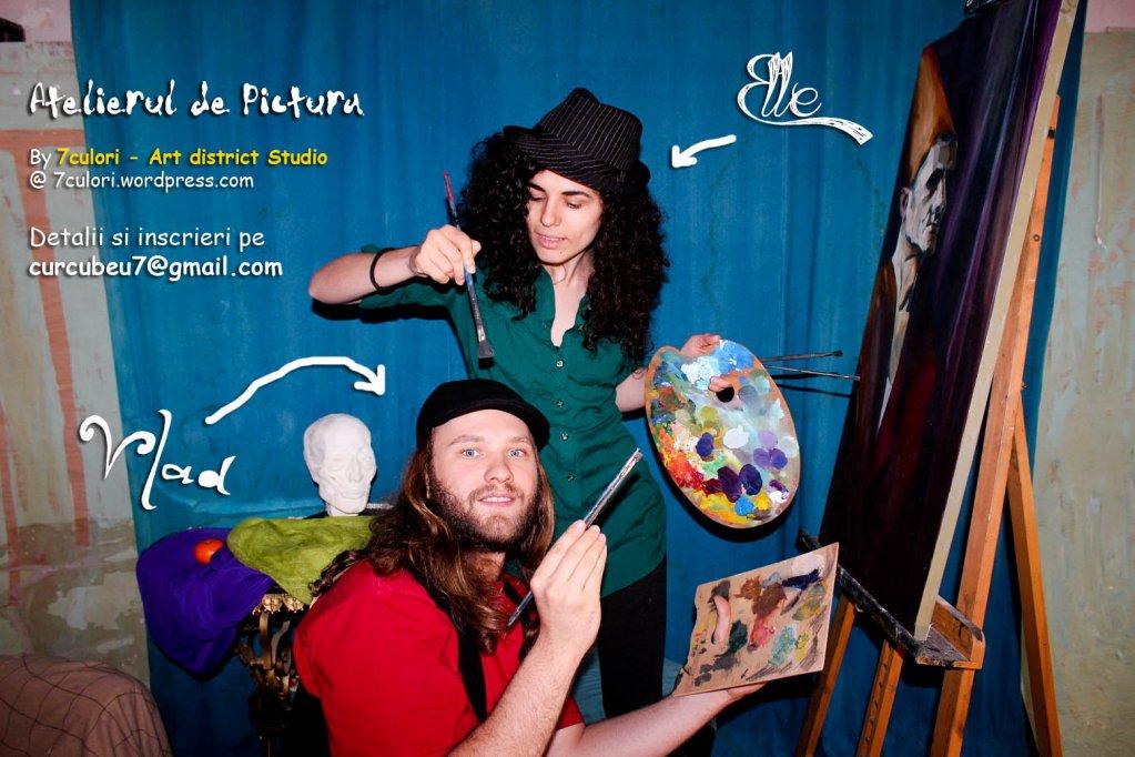 Atelier arte plastice Pictura adulti