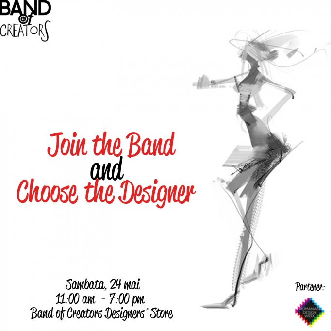 Join the Band and Choose the Designer