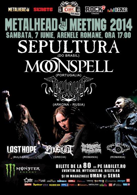 Bilete Meet&Greet la Metalhead Meeting 2014