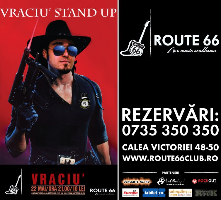 ROUTE 66 - Vraciu Stand Up