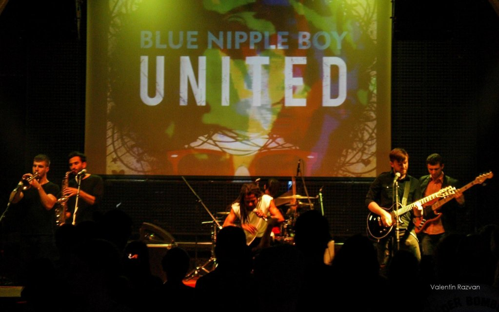 "Blue Nipple Boy a lansat EP-ul ""United"""