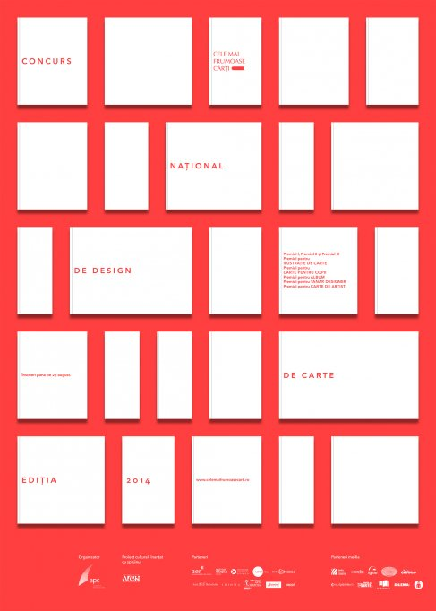 """Incep inscrierile in concursul national de design de carte """"Cele mai frumoase carti din Romania"""" 2014"""