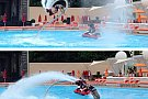 FlyBoard Snagov, intr-un show artistic la Player Summer Club