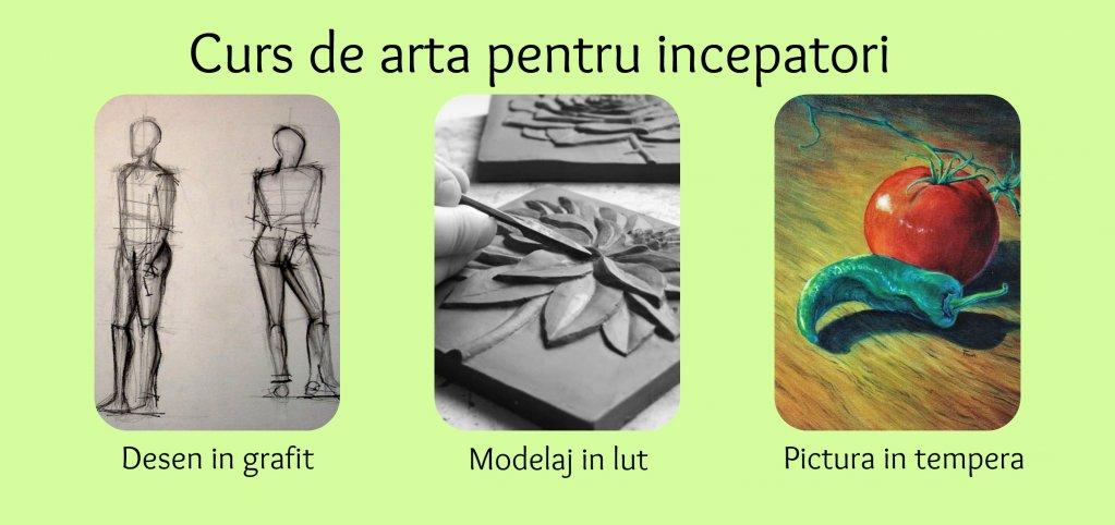 Curs de arta pentru incepatori