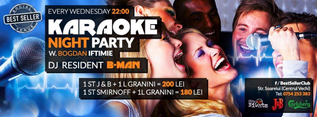 Karaoke Night with Bogdan Iftimie