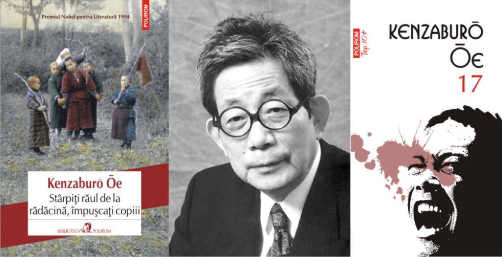 Scriitorul japonez Kenzaburo Oe, laureat al Premiului Nobel pentru Literatura 1994, publicat la Polirom