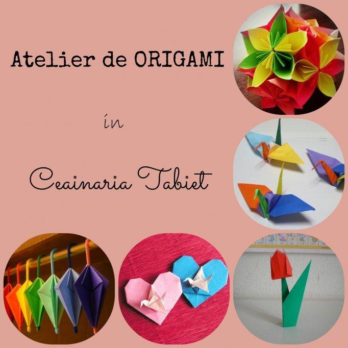 Atelier creativ: Origami