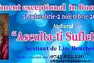 """LISE BOURBEAU IN ROMANIA – ATELIER """"ASCULTA-TI SUFLETUL"""""""