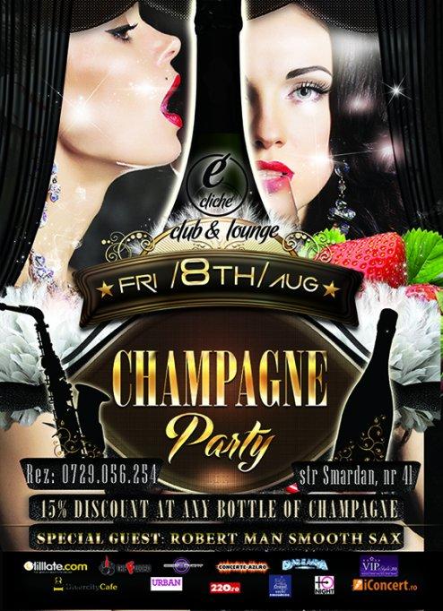 Champagne Party @ Cliche Club & Lounge