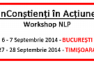 "Workshop NLP ""inConstienti in Actiune"""