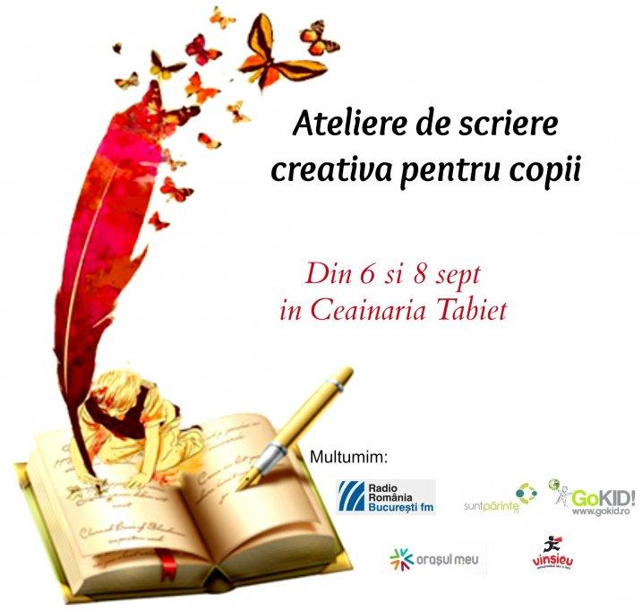 Ateliere de scriere creativa pentru copii