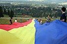 Tricolor de 150 de metri desfasurat in Harghita
