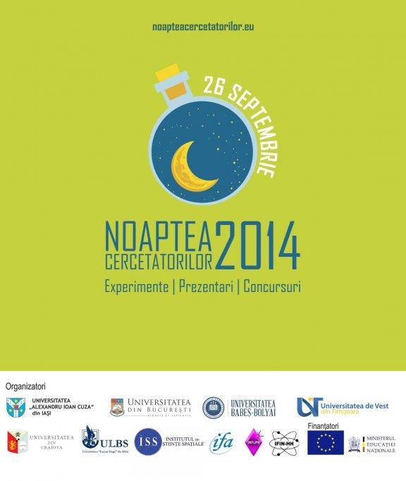 O noua calatorie in lumea stiintei la Noaptea Cercetatorilor 2014
