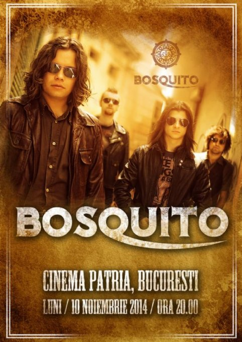 Concert Bosquito la Cinema Patria