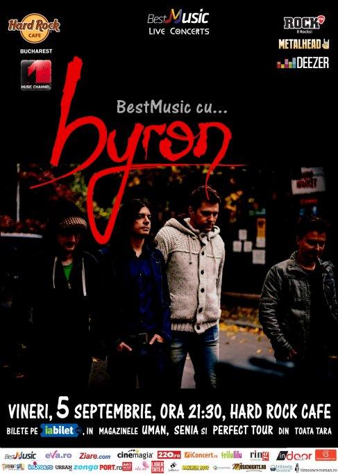 Concert Byron @ Hard Rock Cafe