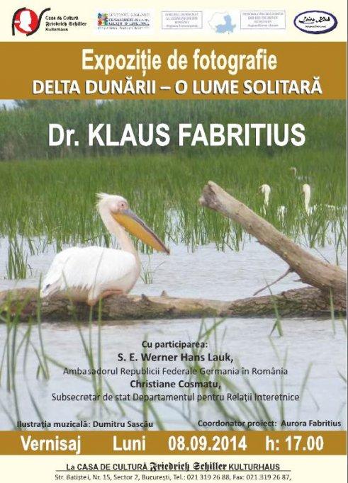 Expozitia de fotografie Delta Dunarii - O lume solitara