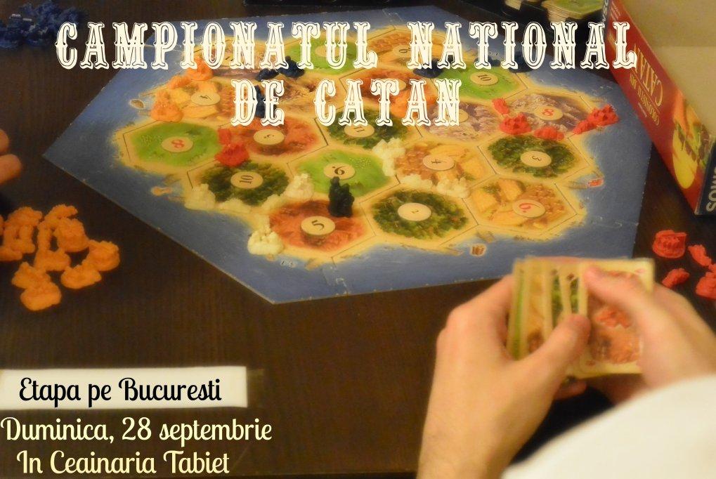 Campionatul National Catan 2014, etapa pe Bucuresti, 28 septembrie 2014