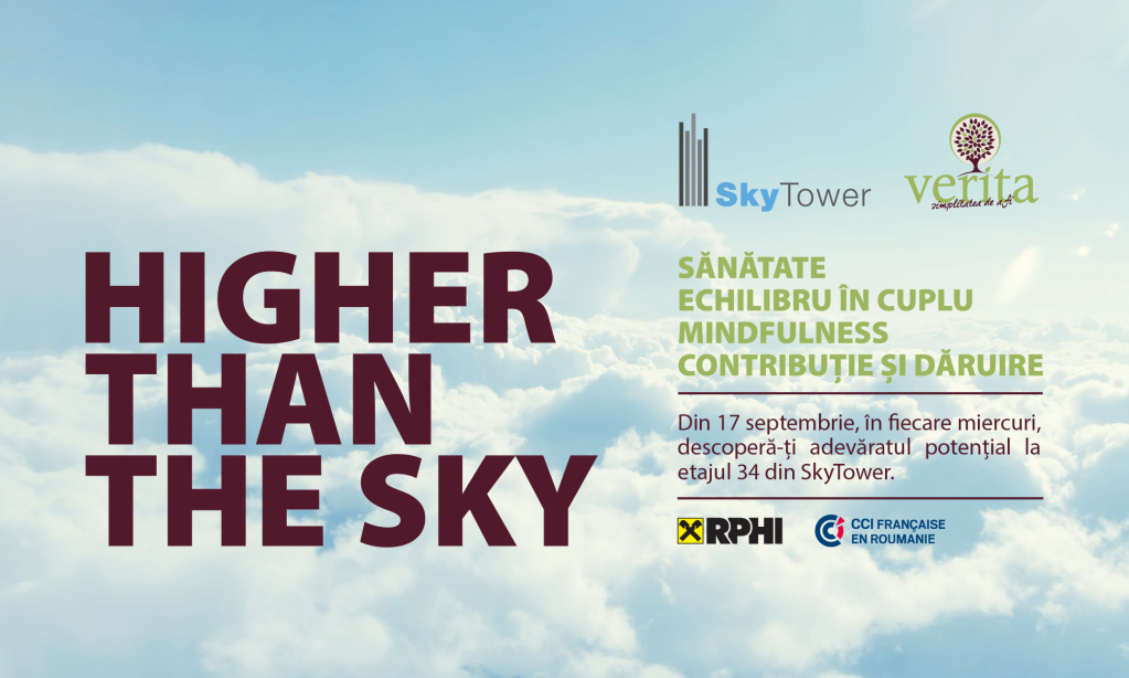 HIGHER THAN THE SKY - ATELIERE DE DEZVOLTARE PERSONALA