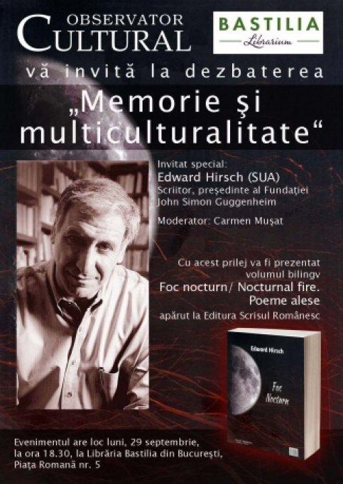 Memorie si multiculturalitate - Edward Hirsch